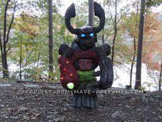 Crusher Halloween Costume Diy Skylanders Slam Bam Costume Printable Instructions