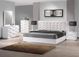 Stylish Leather Modern Master Bedroom Set Springfield Missouri - Bedroom furniture springfield mo