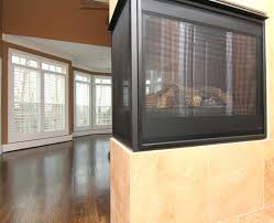 4 sided fireplace designs 3 gas design double pics three master