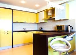 Yellow Kitchen Cabinet Yellow Kitchen Accents Realvalladolid Club