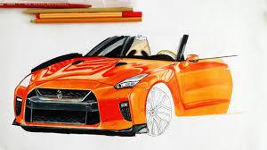 nissan mexico logo nissan gtr llega a méxico como dibujar un carro a colores youtube