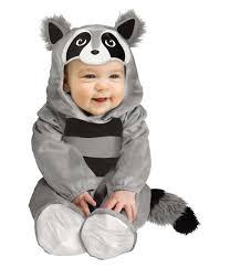 baby boy raccoon halloween animal costume kids costumes