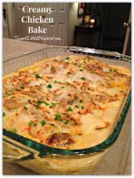 creamy chicken bake creamy chicken happiness and dinners