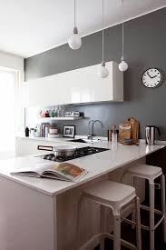 kitchen cabinets with grey walls glossy white cabinets in kitchen with buy image