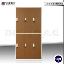 factory price bedroom used storage closets steel 6 door locker