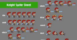 knight sprite sheet free asset store