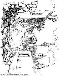 coloring pages for landscapes landscape coloring pages for adults landscape coloring page 42 for