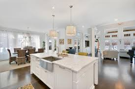 large kitchen island kitchen islands u0026 peninsulas design line kitchens in sea girt nj