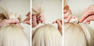 bungees hair behold a chic topknot for shoulder length hair beauty blitz
