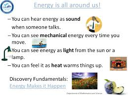 physical science big idea 10 forms of energy big idea 11 energy