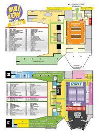 floorplan con anime u0026 manga convention 28 oct 2017