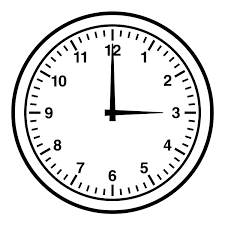 wall clock clipart black and white clipartxtras