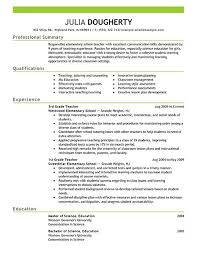 Professional Summary Example For Resume by Changing Careers Resume Styles Free Career Change Templates En