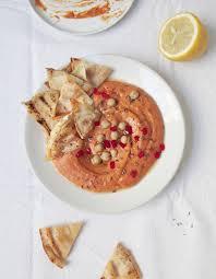 comment cuisiner les poivrons rouges houmous aux poivrons rouges pour 6 personnes recettes à table