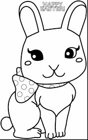 amazing bunny rabbit coloring pages for kids with easter bunny