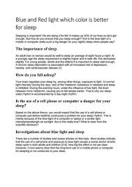 blue light for depression blue and red light which color is better for sleep by george issuu