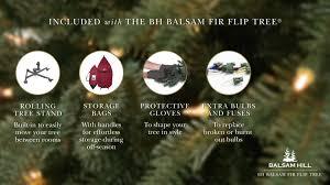 bh balsam fir flip tree