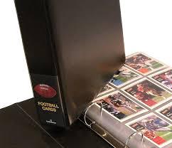 large photo albums 1000 photos football card album hobbymaster
