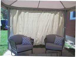 gazebo with privacy curtains gazebo ideas