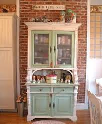 Cottage Kitchen Hutch A Beautiful Kitchen Hutch Finished In Old White Chalk Paint
