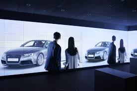audi digital showroom digital brand experience at the point of sale