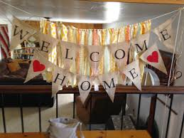 Welcome Home Decorations by Blog Pak Mart