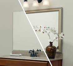 mirror mate bathroom traditional with mirror frame kit green