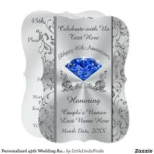 45th wedding anniversary 45th wedding anniversary invitations yourweek d04280eca25e