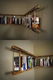 Leaning Bookcase Woodworking Plans by Best 25 Bookshelf Ladder Ideas On Pinterest Ladder Bookshelf