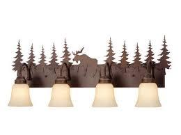 Cabin Vanity Lights Best 25 Lodge Bathroom Ideas On Pinterest Deer Decor Log Cabin
