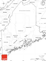 United States Map Blank by Blank Simple Map Of Maine