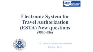 Connecticut electronic system for travel authorization images U s customs and border protection february ppt download jpg