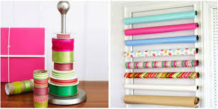 wrapping supplies gift wrap organization how to organize wrapping paper