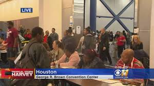Seeking Houston Thousands Seeking Shelter At Houston Convention Center
