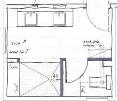 bath floor plans master bathroom floor plans with walk through shower