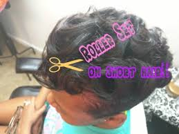 roller set relaxed hair how to rollerset on short relaxed hair youtube