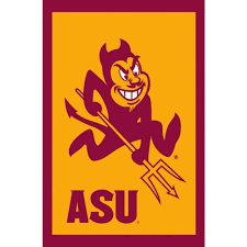 Lsu Garden Flag Fan Essentials 1 Ft X 1 1 2 Ft Arizona State University 2 Sided