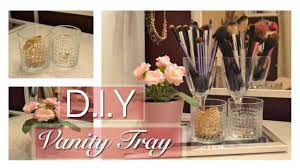 vanity trays for perfume how to d i y vanity tray youtube