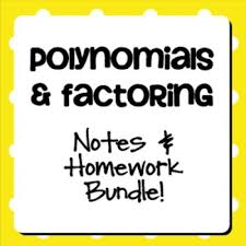 Homework help factoring polynomials   Dissertation consultation     Factoring a polynomial is just the opposite of multiplying polynomials