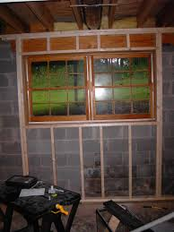 surprising design framing basement windows cost of a basements ideas
