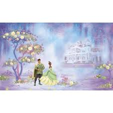 wall murals all obedding com disney princess and the frog wall murals chair rail
