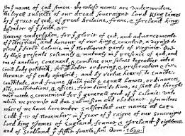 history of plymouth plantation by william bradford mayflower compact mayflowerhistory