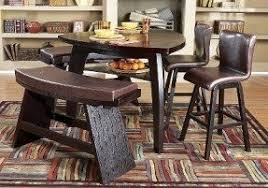 Raymour And Flanigan Dining Room High Bistro Table Set Foter