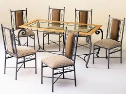wrought iron dining table set wrought iron dining with craft steel interiors