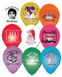 personalized balloons d balloon imprint dballoon on