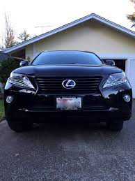 used lexus rx450h toronto rx450h being green and badass all at the same time blacked out