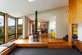 design house interiors york warm wooden interior accentuates a welcoming wellington home open