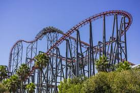 Six Flags Magic Mountain by Six Flags Magic Mountain Los Angeles Ruebarue