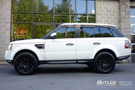 land rover range rover off road land rover range rover sport with 20in niche circuit wheels