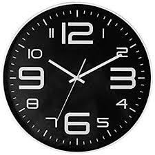 amazon com sonyo indoor big 3d number quartz wall clock quiet
